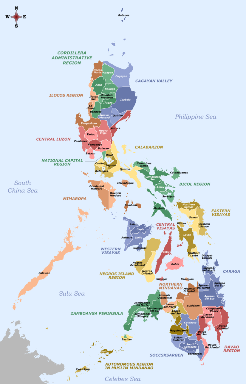Provinces of the philippines image map wikipedia labelled map of provinces of the philippines image map wikipedia labelled map of the philippines gumiabroncs Images