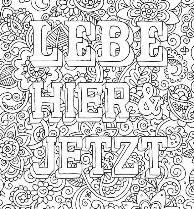 Zencolor Moments Wuensche Und Sprueche Von Ursula Schwab B2 Png 620 665 Ausmalbilder Zum Drucken Ausmalbilder Ausmalen