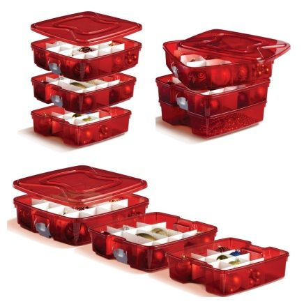 Christmas Tree Storage Tote Organize Your Christmas Tree Ornaments And Decorations With The New