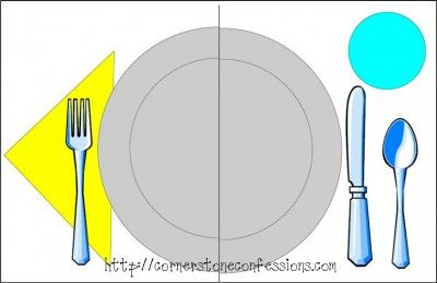 Free Table Setting Placemat Printables | Pinterest | Homeschool ...