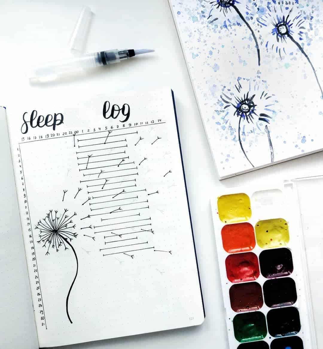 20 Sleep Trackers In Your Bullet Journal For Better Sleep