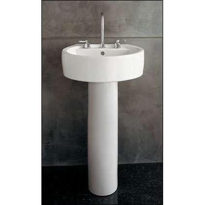 Chipperfield Pedestal Sink Photo Small Bathroom Small Bathroom