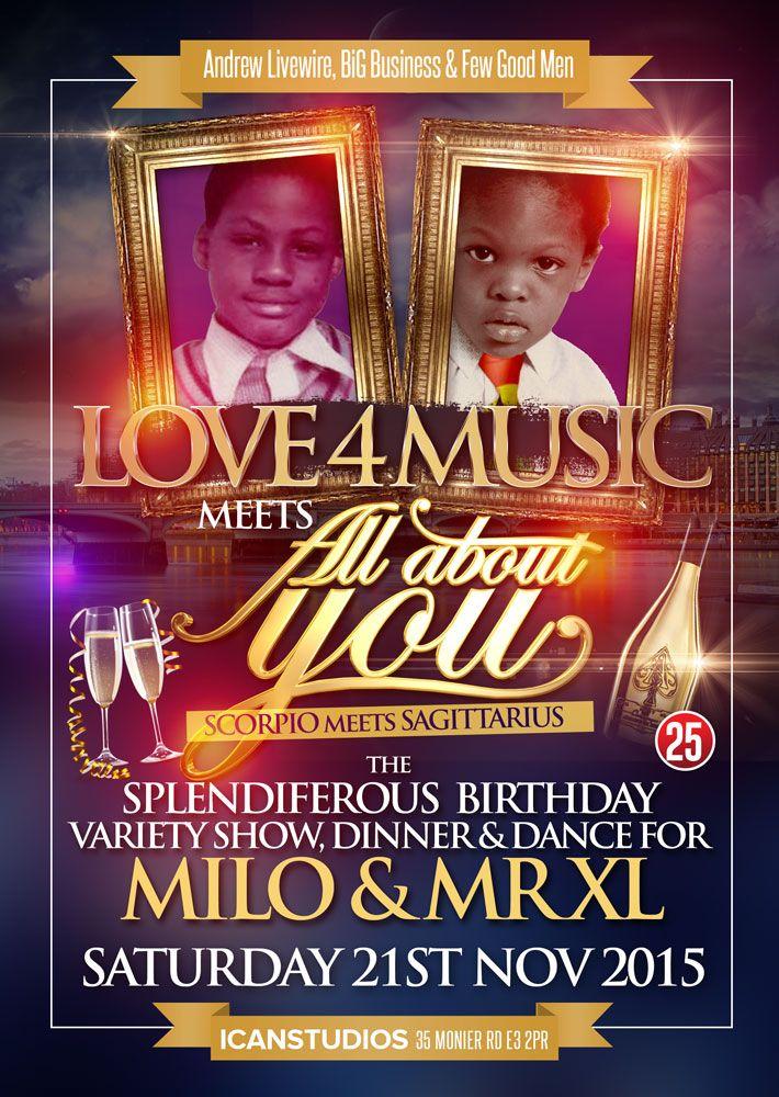 Club Flyer #JayNelson #Love4Music #Milo #MrXL