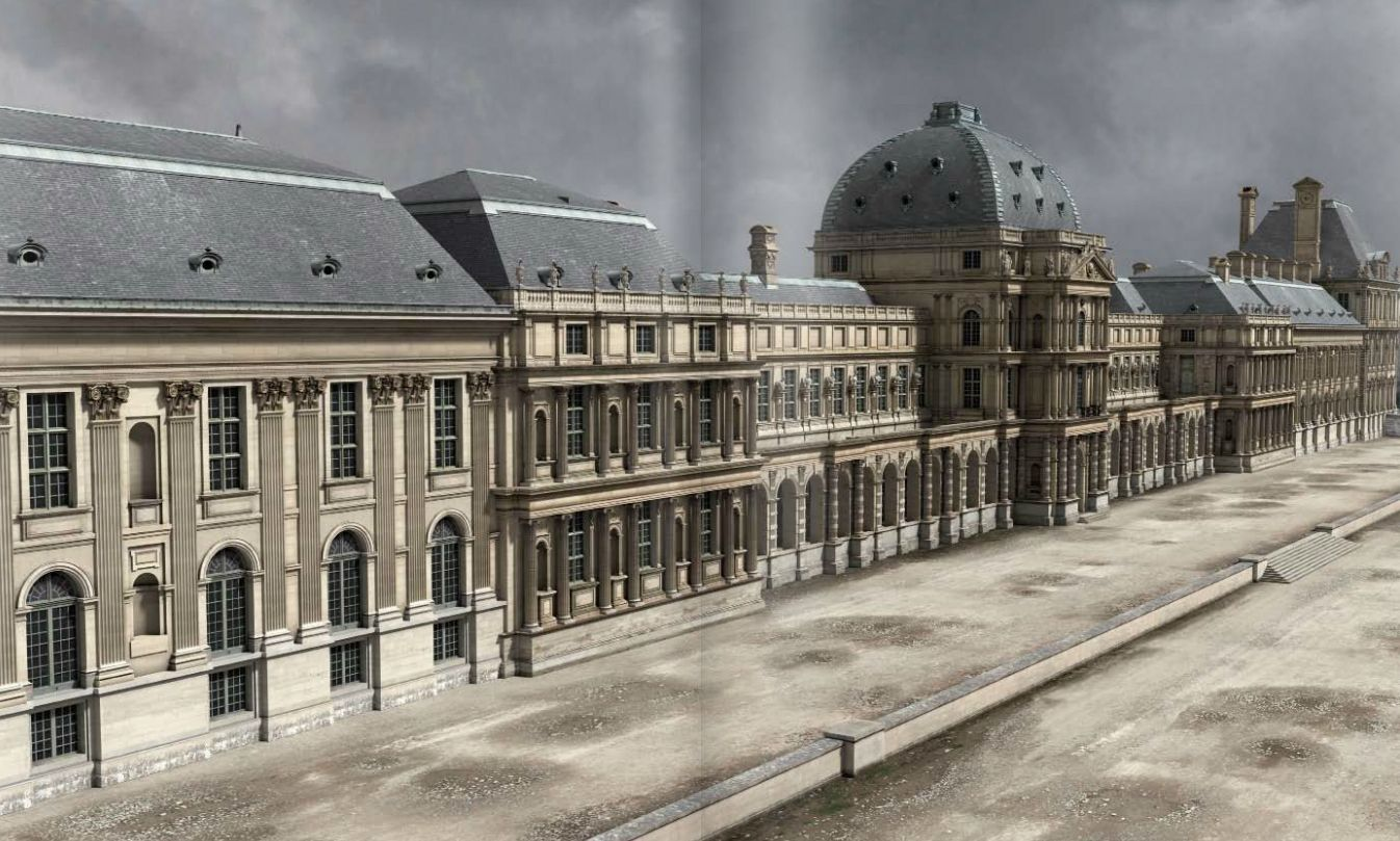 Palais Des Tuileries Extrait 18th Century France French
