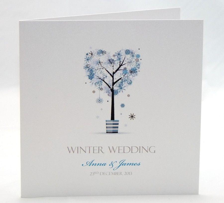 winter wedding invitations ideas - Google Search | I said \