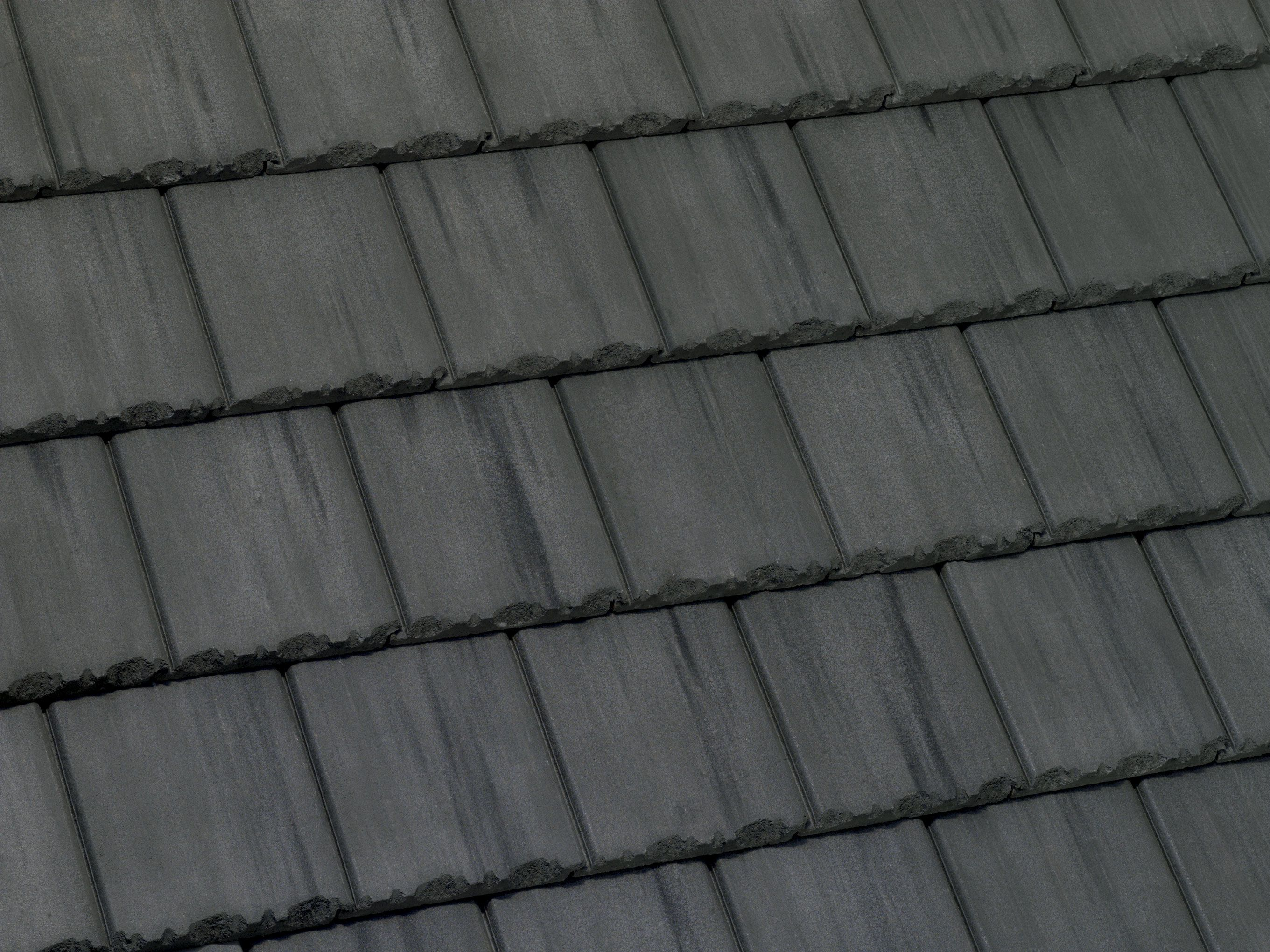 49595 Tapered Slate Dark Charcoal Roof Paint Concrete Roof Tiles Roofing Felt