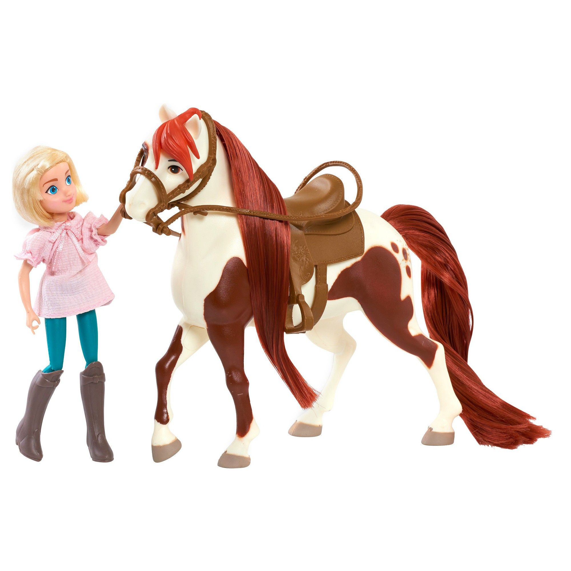 Spirit Riding Free Small Doll & Classic Horse Abigail