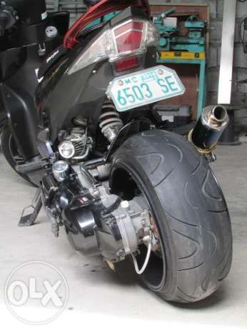 View Fatty Wheel Scooter Conversion Custom Bike Shop For Sale In