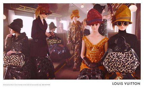Louis Vuitton  Fall/Winter 2012-2013  Photographer: Steven Meisel  Models: Mackenzie Drazan, Marie Piovesan, Franzsika Müller, Julia Nobis, Ros Georgiou, Marina Heiden, Elena Bartels