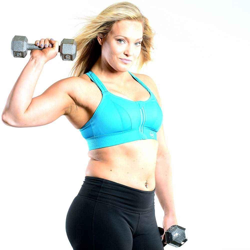 Ultimate Sports Bra® Black Sports bra, Black sports