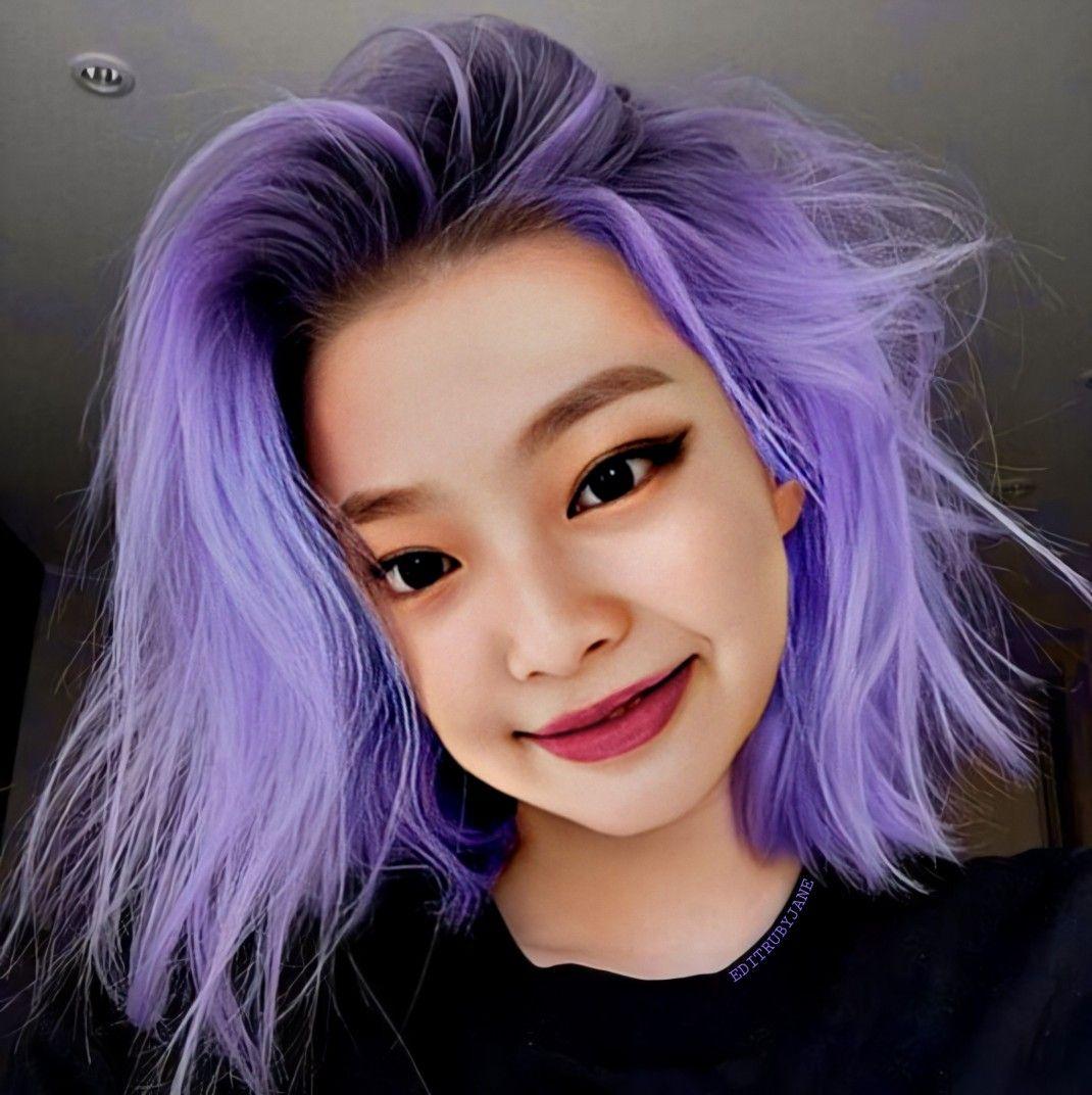 Jennie purple hair | Purple hair, Hair, Purple