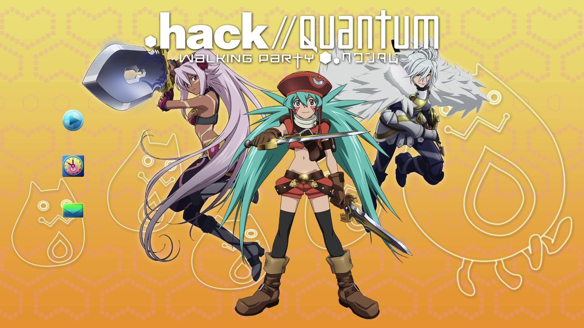 .hack//Quantum (RX)2010 .hack//量子戰爭 (RX) Anime, Poster