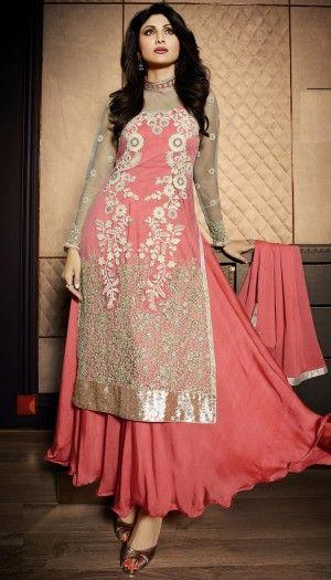 Shilpa shetty in long dress