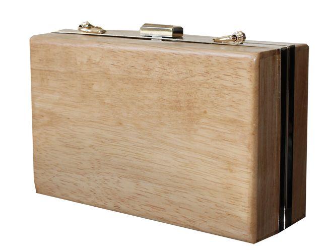 NUEVA TEMPORADA SS14 : Clutch madera