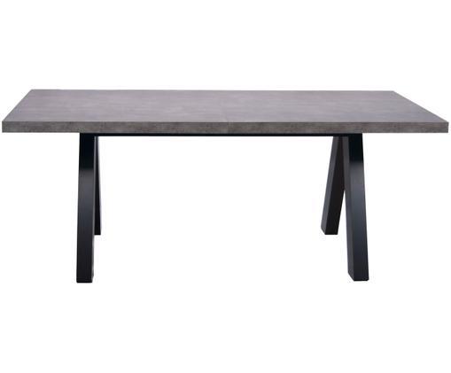 Verlangerbarer Esstisch Apex In Beton Optik Esstisch Tisch Und