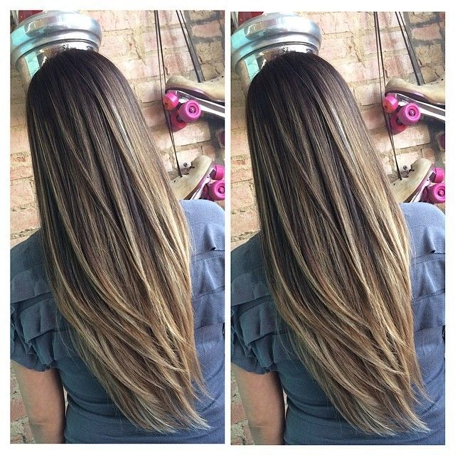 Pinterest radicalvibez tangles pinterest hair coloring long layers with a natural colour pmusecretfo Choice Image