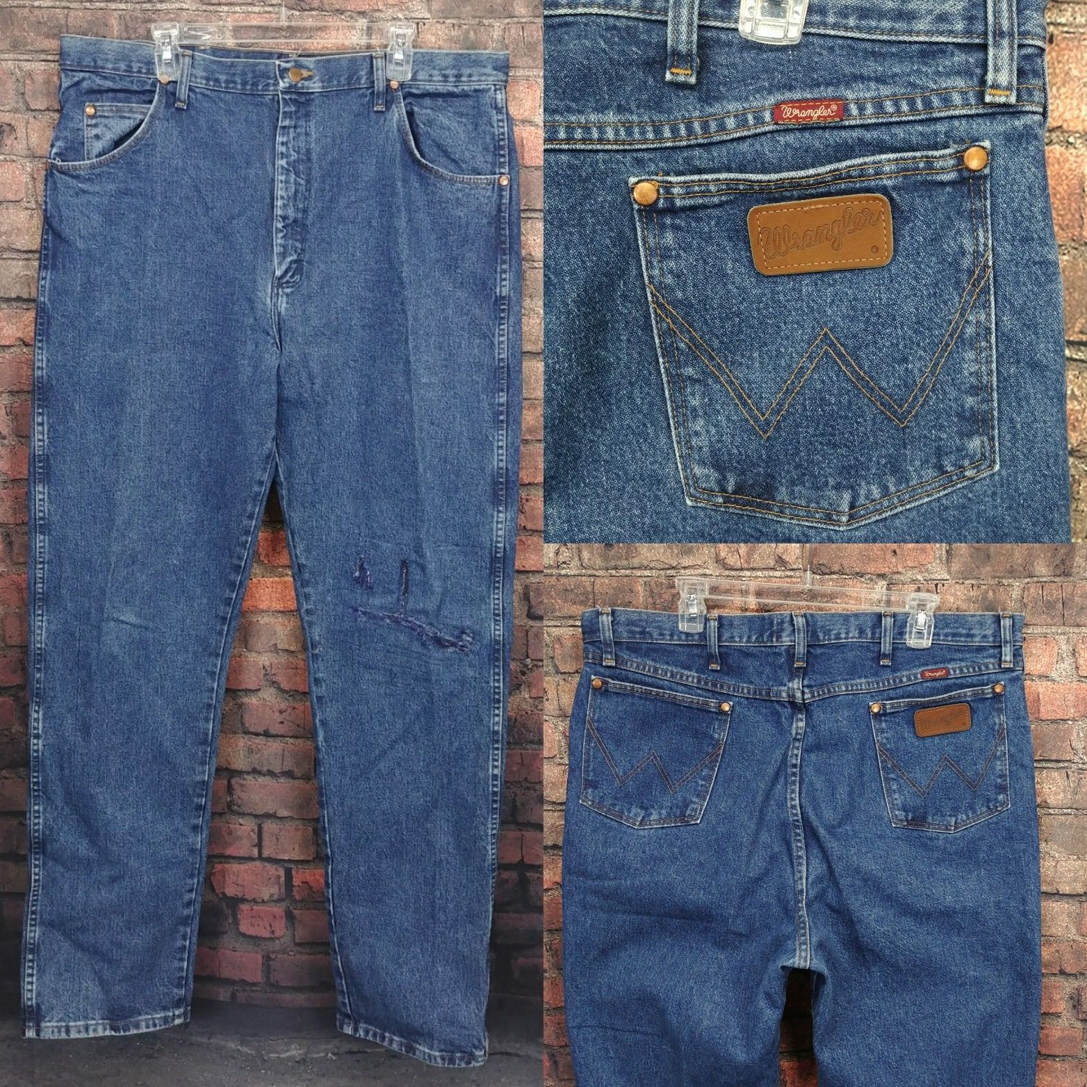 6c520440 Wrangler Mens Sz 4137 Jeans 31MWZGK Cowboy Bootcut | Shopping ...