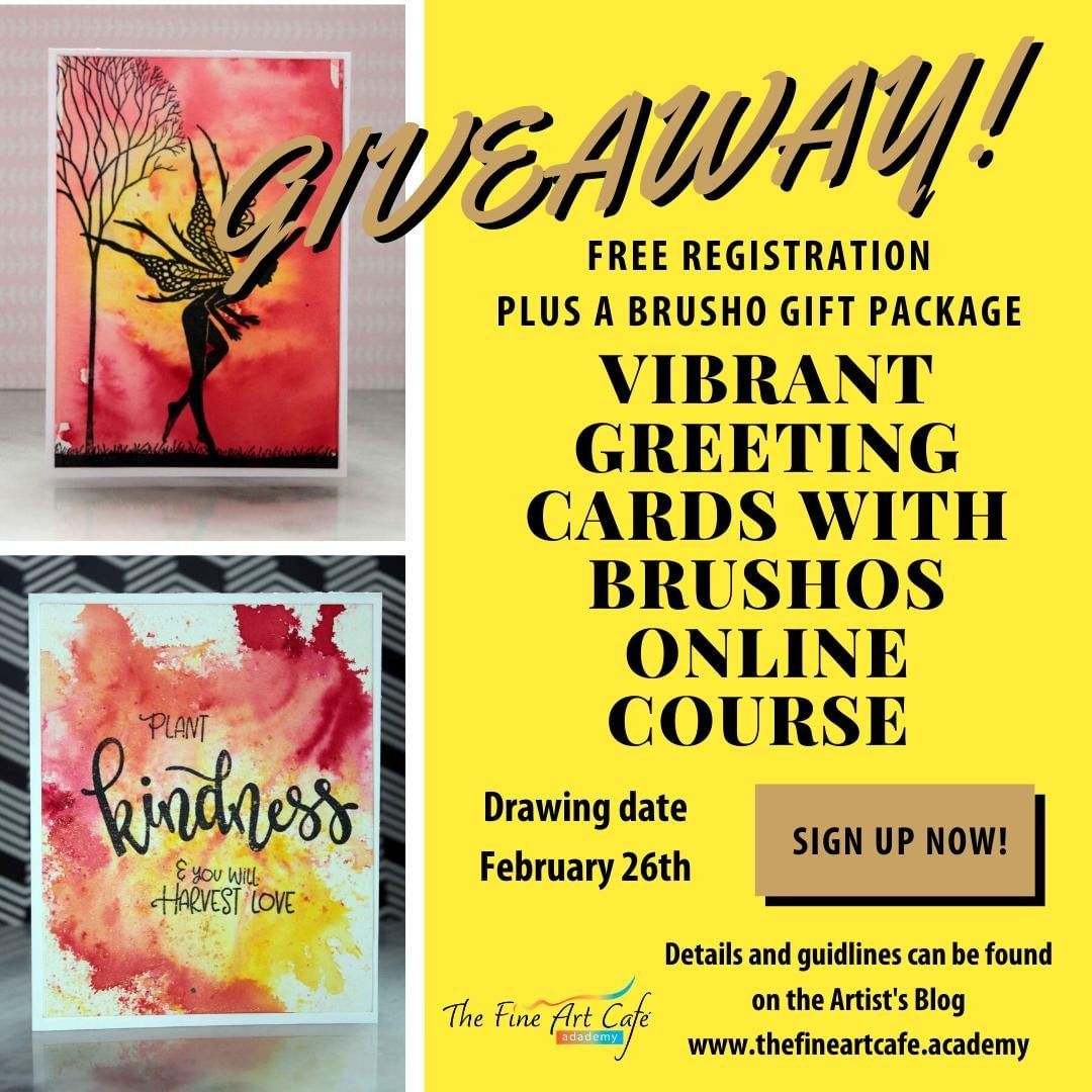 thefineartcafeandacademy posted to Instagram Giveaway
