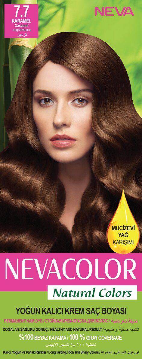 Neva Color Natural Colors Sac Boyasi 7 7 Karamel Sac Boyasi