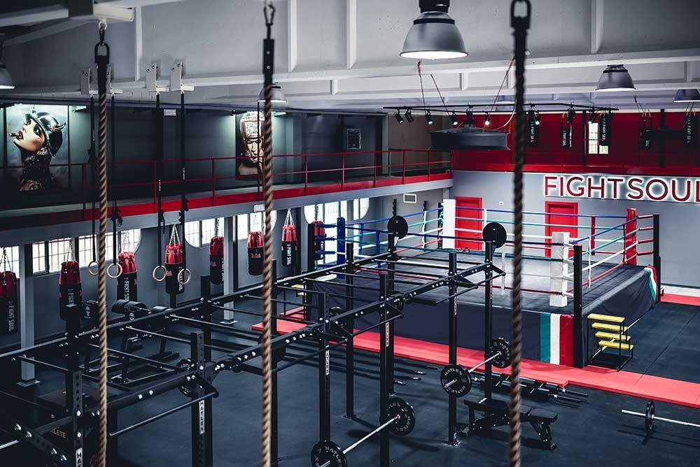 Gallery Fight Soul Reggio Emilia Italy Mma Gym Boxing Gym Design Gym Design