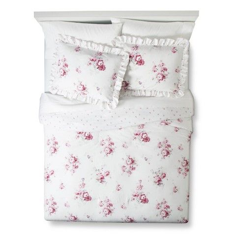 simply shabby chic sunbleached floral comforter setbought this set today and