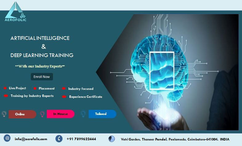 Artificial Intelligence Best Training Internship In Coimbatore With Images Machine Learning Machine Learning Training Machine Learning Deep Learning