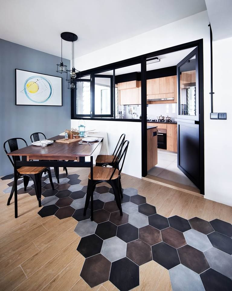 Semi Open Kitchen Designs: 8 Ways To Do A Semi-Open Kitchen In Your HDB