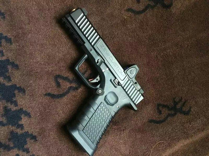 Not-a-Glock! polymer80 Spectre frame zev slide, barrel, guide rod