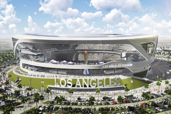 Los Angeles S Record Rainfall Delays Inglewood Nfl Stadium Until