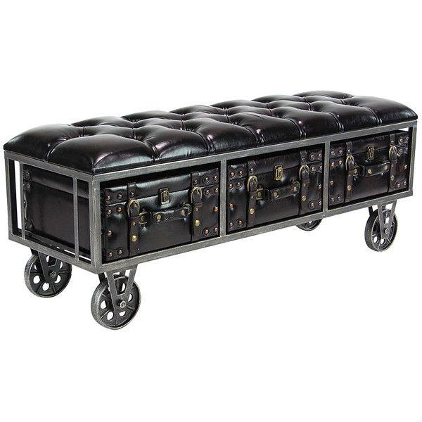 Swell Uma Enterprises Rectangular Wheeled Suitcase Leather Storage Ibusinesslaw Wood Chair Design Ideas Ibusinesslaworg