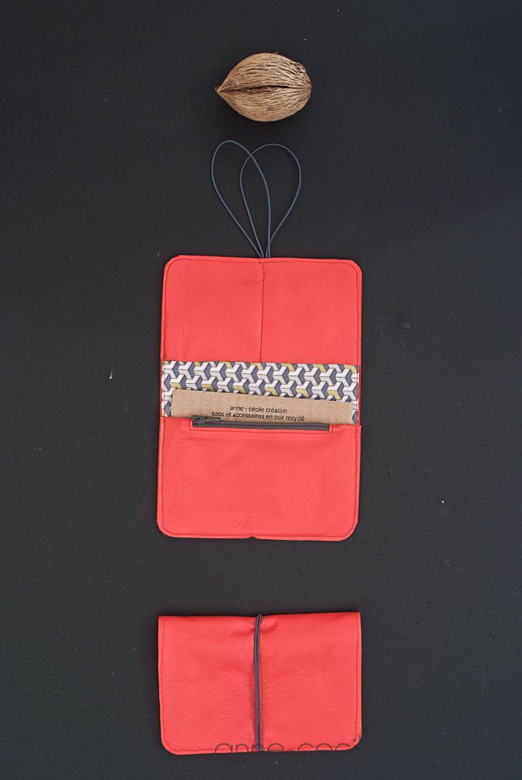 af6a3fea47e red leather original wallet