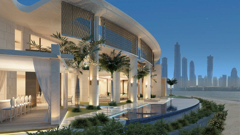 Water front home in Dubai, by SAOTA