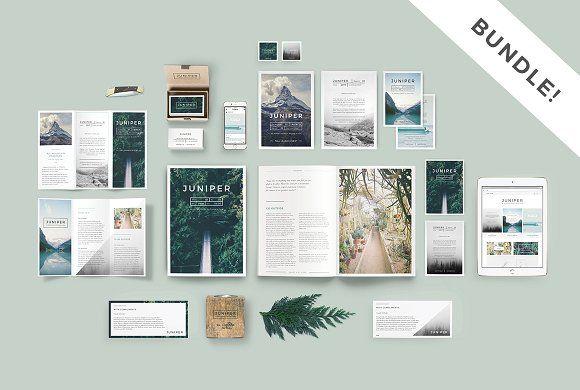 J U N I P E R Branding Bundle! - clean, modern, botanical Social