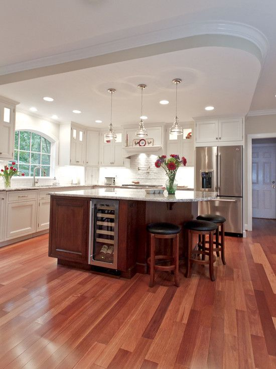 Project Features: Custom Finishes; Custom Work Island with ...