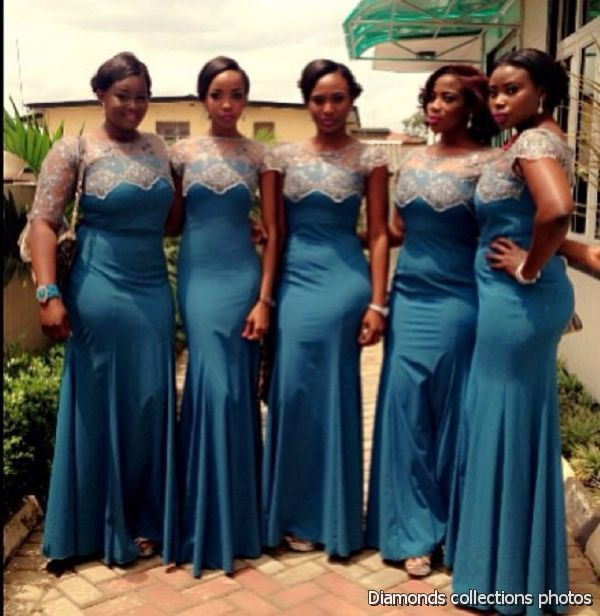 African brides maids dresses google search my wedding for Current wedding dress styles