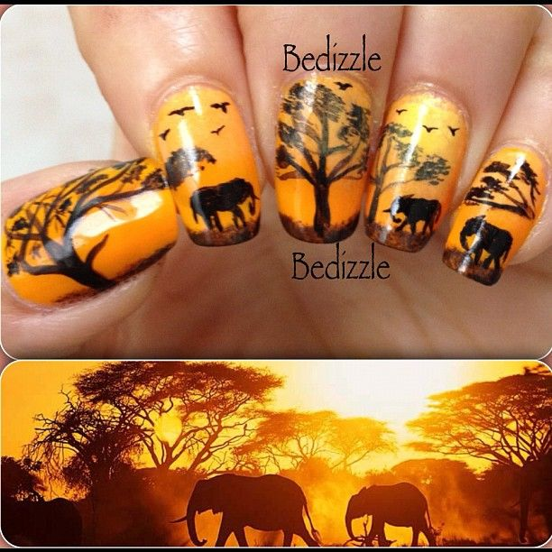 African Nail Art: Hair & Beauty That I Love In