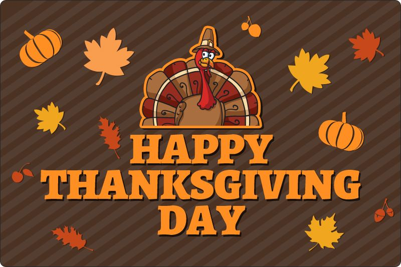12x18 Custom Thanksgiving Day Car Truck Auto Vehicle Signs Outdoor