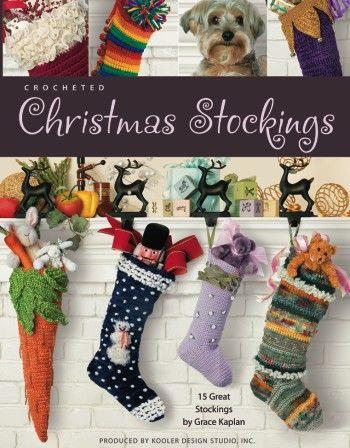 Diy Christmas Stockings 9 Free Crochet Patterns Pinterest