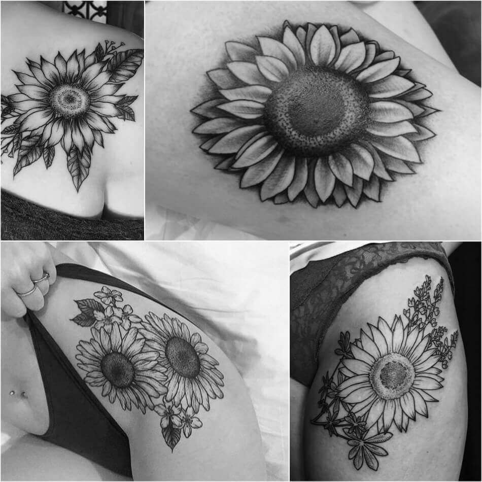Sunflower Tattoo Meaning Popular Sunflower Tattoo Ideas For Women And Men Sunflower Tattoo Meaning Sunflower Tattoo Shoulder Sunflower Tattoo Sleeve
