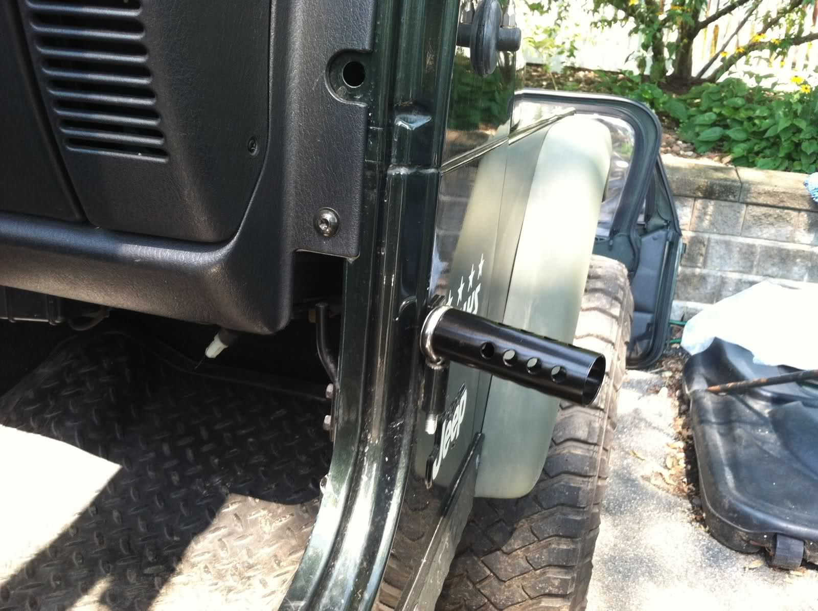 Homemade Jeep Pegs Step By Step Guide Jeep Wrangler Forum Jeep Mods Jeep Doors