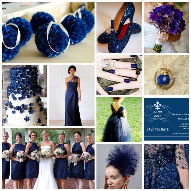 Navy Blue Wedding Ideas: Monaco Blue: Wedding Pinspiration