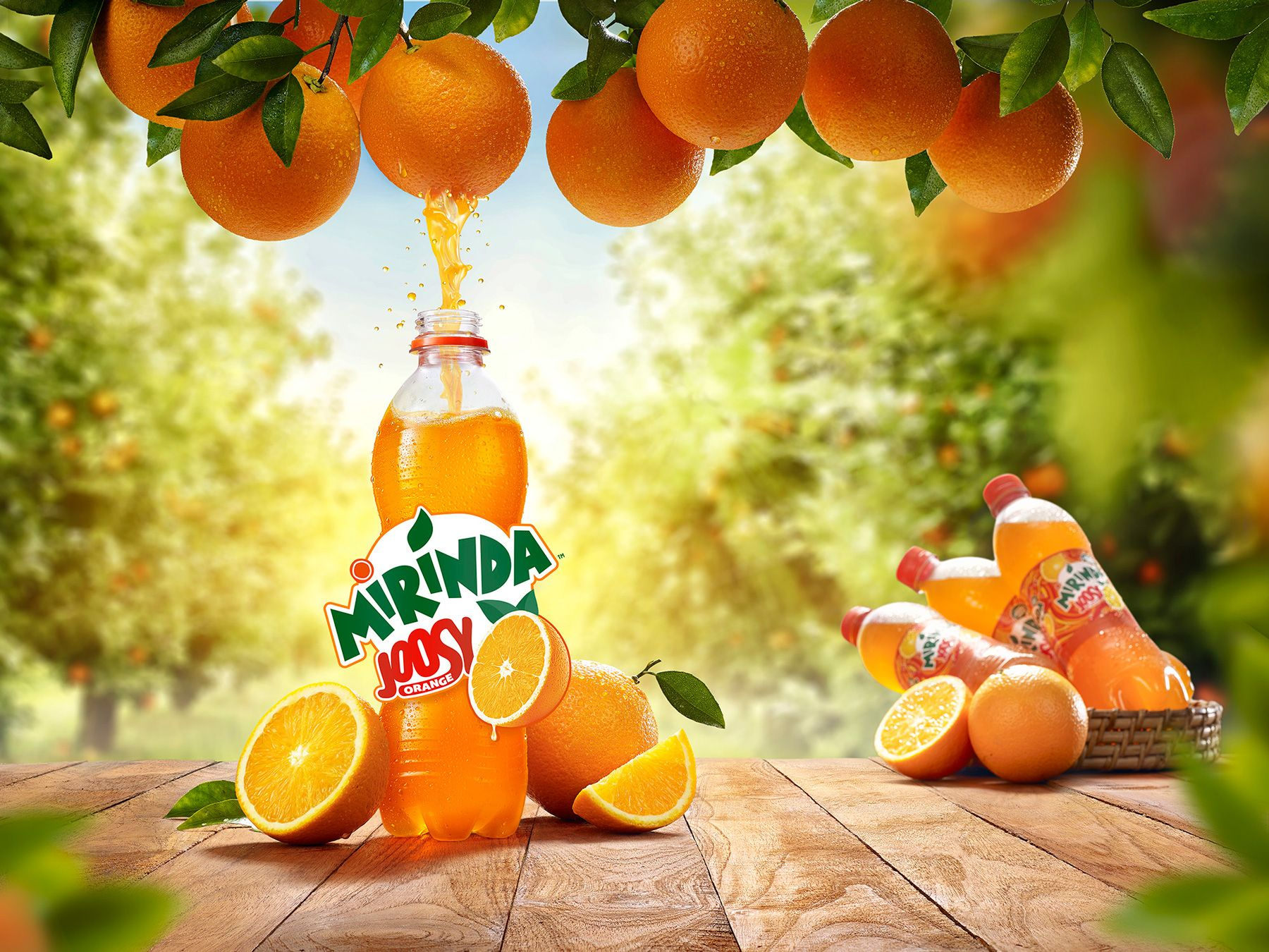 Mirinda Joosy Orange on Behance | Drinks packaging design, Food ...