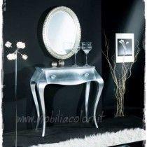 consolle-contemporary-design-foglia-argento-mobile-ingresso ...