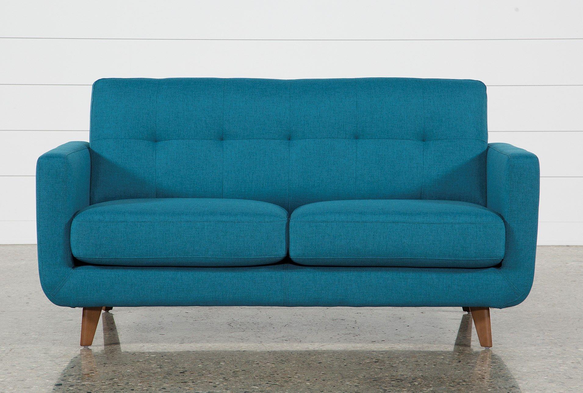 Twin Plus Sleeper Sofa, Allie Jade Blue 650 Sleeper