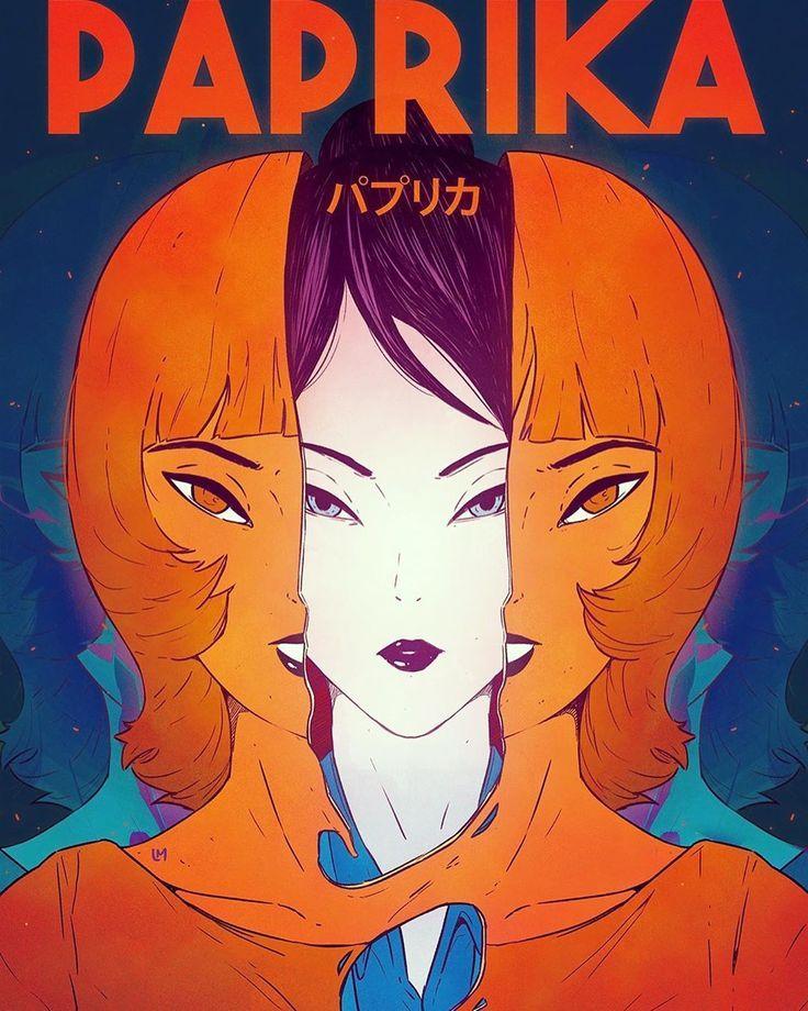 Paprika, mon film d'animation japonais préféré, est