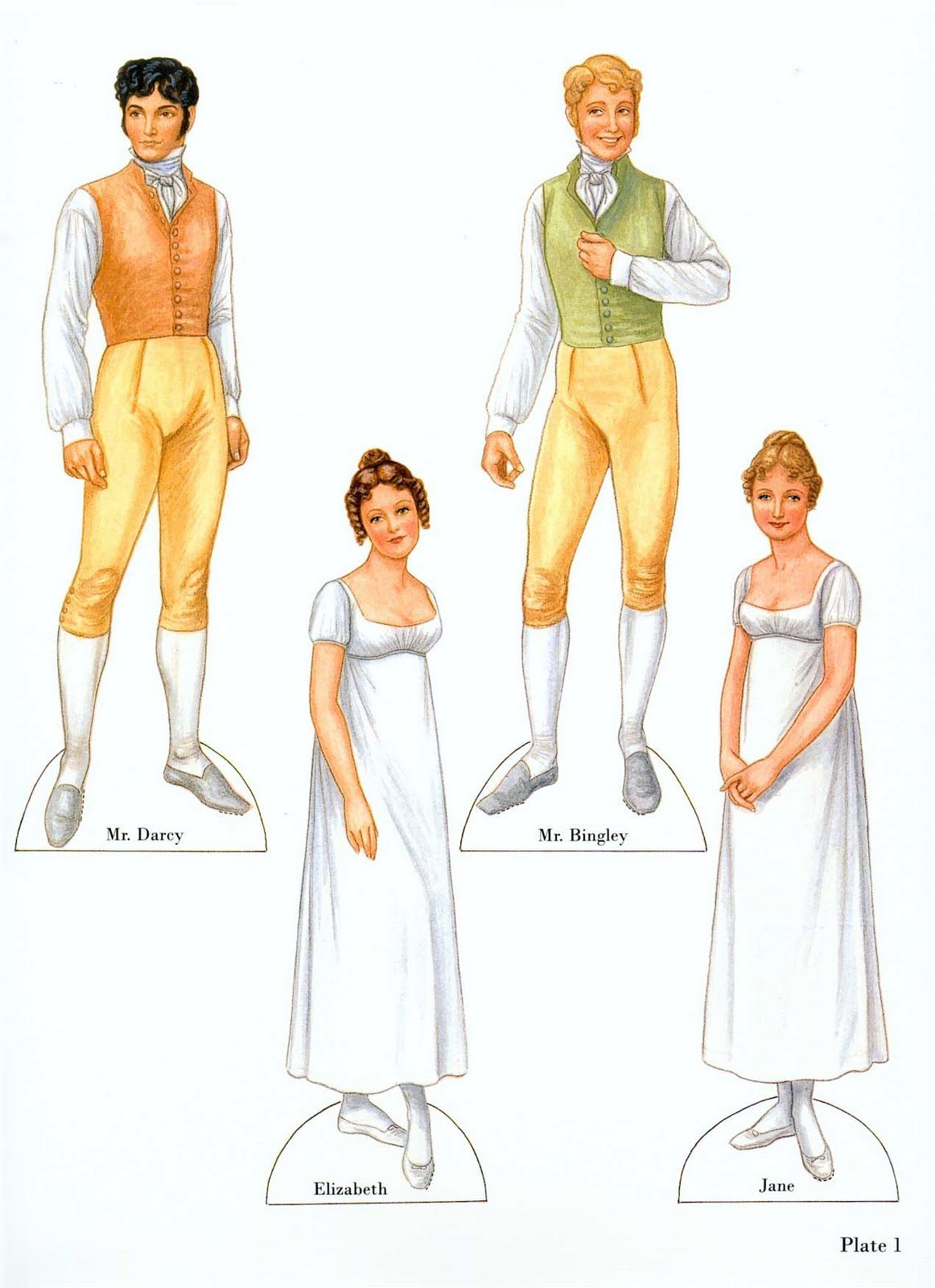 Pin By Emerald On Paper Dolls Paper Dolls Pride And Prejudice Vintage Paper Dolls