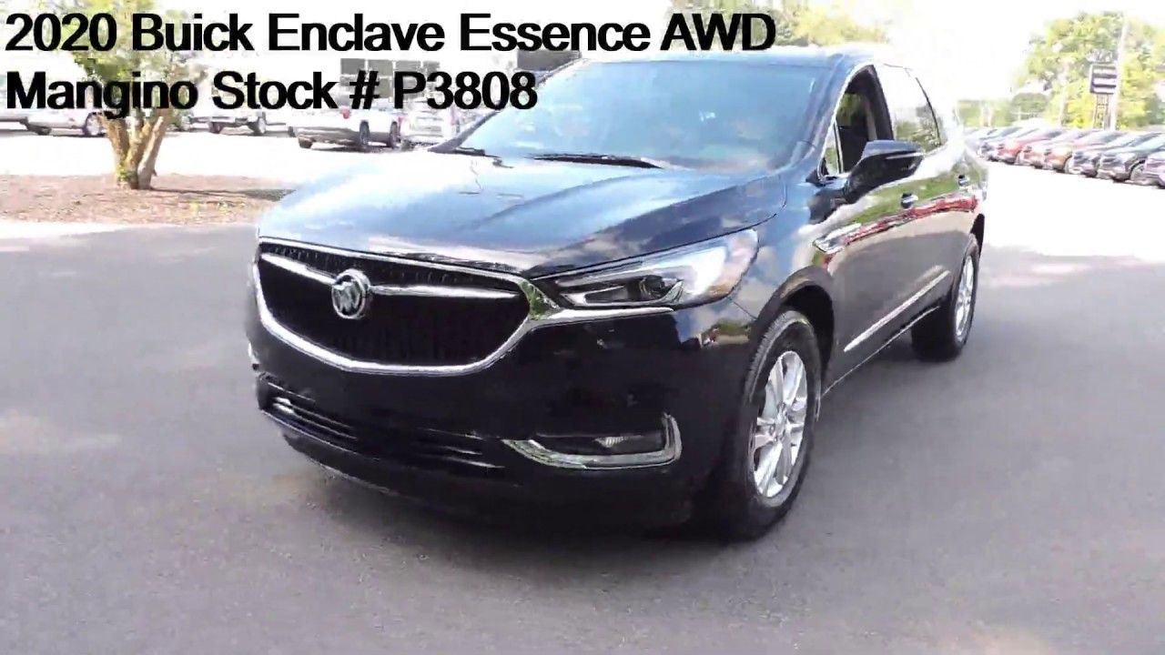 2020 Buick Enclave Essence Awd Mangino Stock P3808 Buick Enclave Buick Awd
