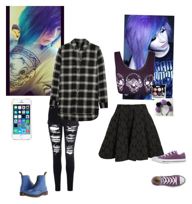 """Anyone wanna hang out with us? // Mavis & Nico"" by kawaiimonster81 ❤ liked on Polyvore featuring мода, Glamorous, Alaïa, WearAll, Chanel, Dr. Martens, Madewell, Converse и FingerPrint Jewellry"