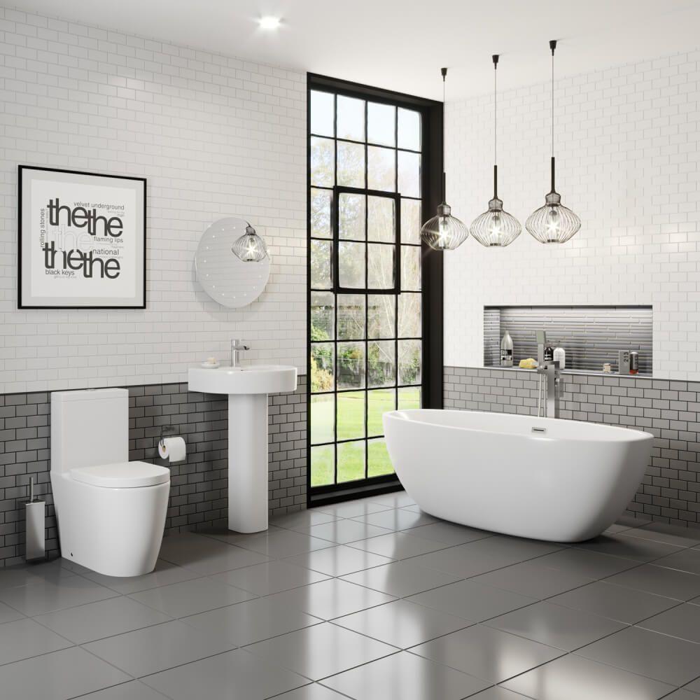 Bordeaux Bathroom Suite Freestanding Bath High End Quality Internet Only Price Next Day Deli Bathroom Inspiration Modern Free Standing Bath Bathroom Suite