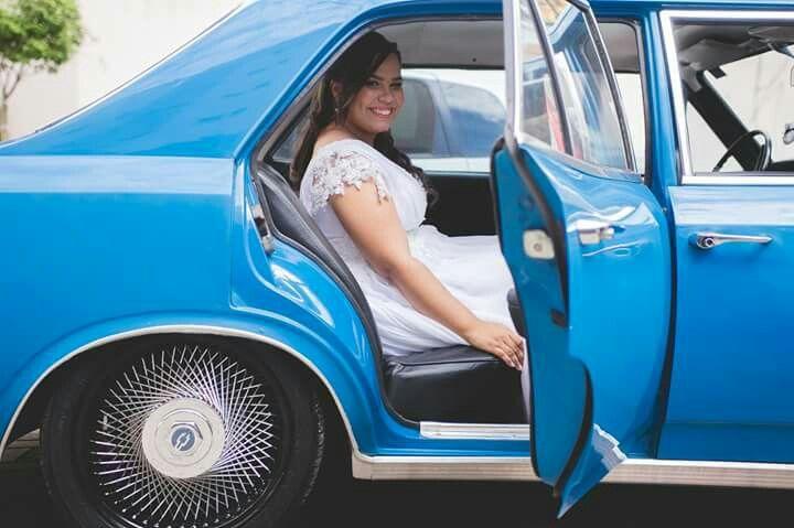 Carro da noiva | Opala | A❤F